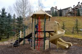 Hyatt even had a playground!