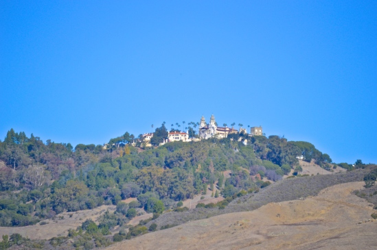 View of castle from Visitors Center